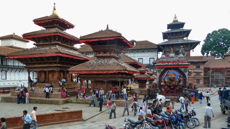 Nepal - Kathmandu - Durbar Square - 209