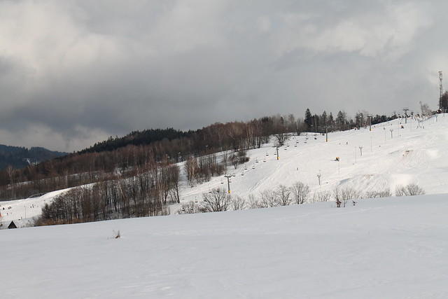 Skipark Mladé Buky, seen from the Grund Resort