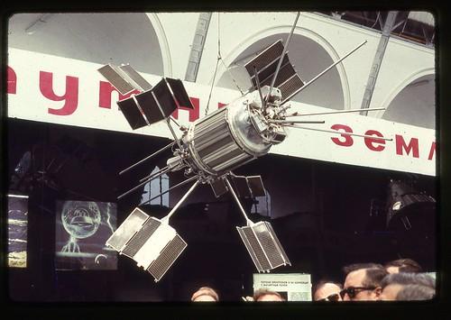 Electron 2 Satellite, Moscow, 1969