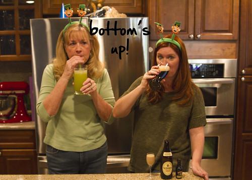 bottom's up!