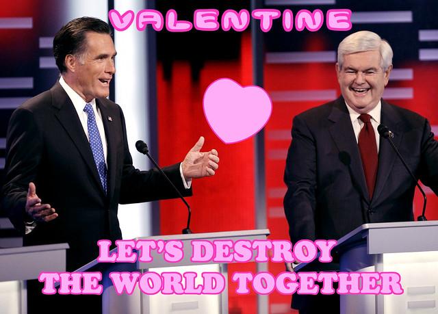 Romney & Gingrich