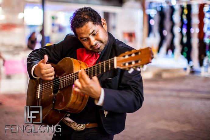 Mariachi Band Serenades the Groom | Jessica & John's Destination Wedding | Playa del Carmen, Mexico | Riviera Maya Quintana Roo Destination Wedding Photographer