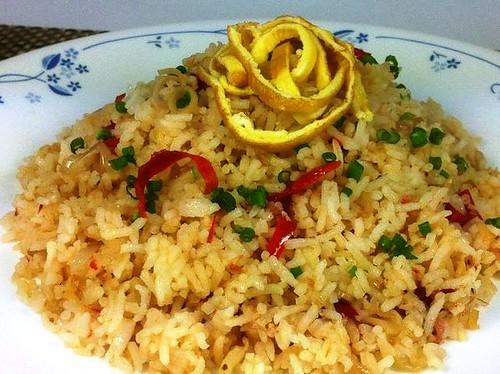 S's cincaluk fried rice