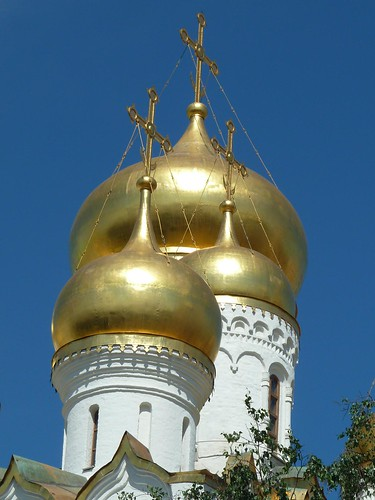 Moscow, Russia, Kremlin, Golden Onion Domes (In Explore 3/13/12 #118)