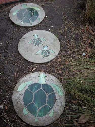 garden stepping stones