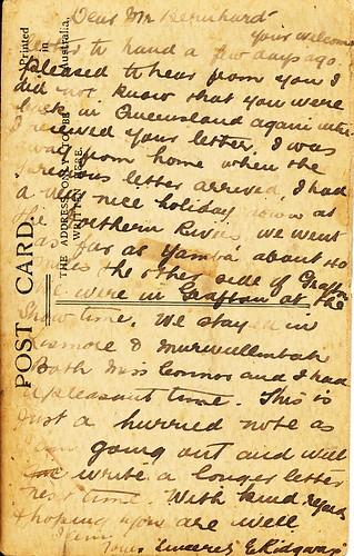 Grafton Letter