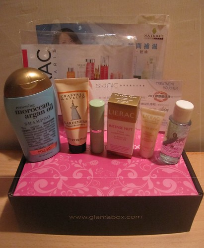 March Products inside Glamabox