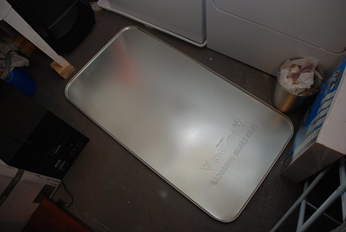 Oil drip pan (before paint)