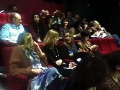 The CultureCode Boutique crowd at Live Theatre.