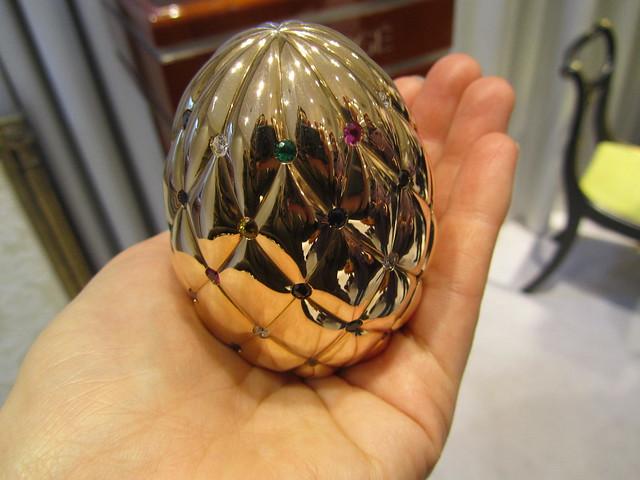 £100,000 prize egg!