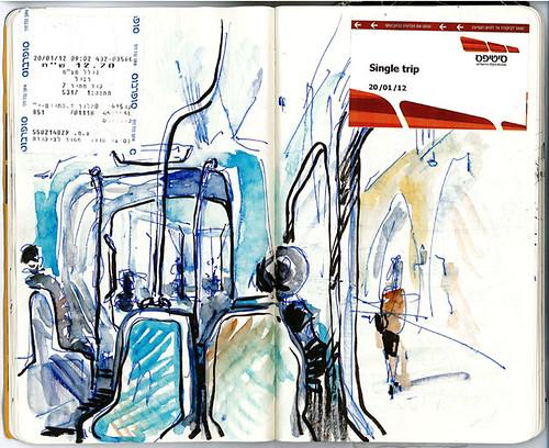 04_streetcar_jerusalem by ezhilinsky