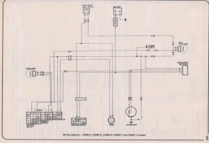 c90 simplified wiring diagram, for lights  Page 2  C90Clubcouk