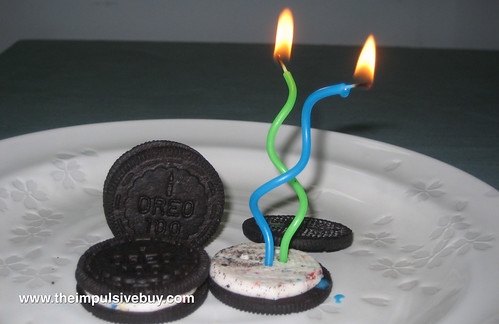 Review Nabisco Limited Edition Birthday Cake Oreo The