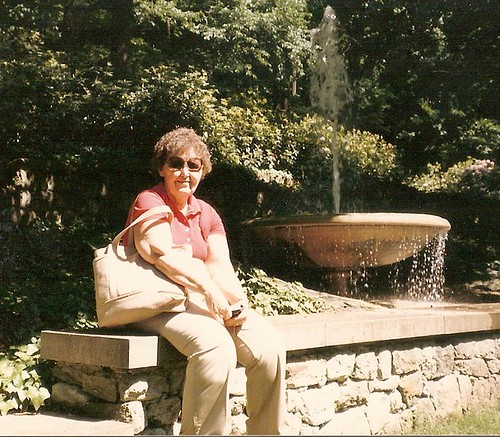 Mom at Longwood Gardens