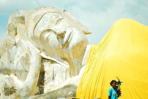 Sleeping Buddha in Ayutthaya