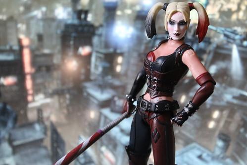 Arkham City Harley Quinn Figure
