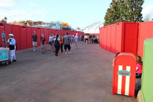 Entrance to Storybook Circus