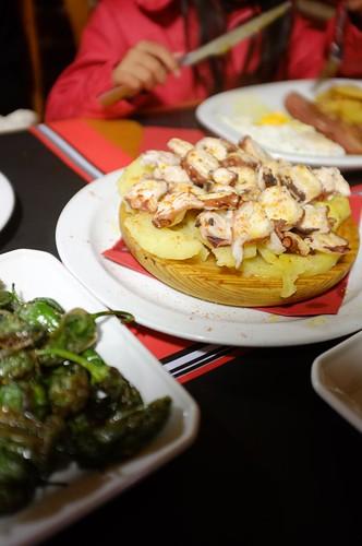 dinner at El Raval