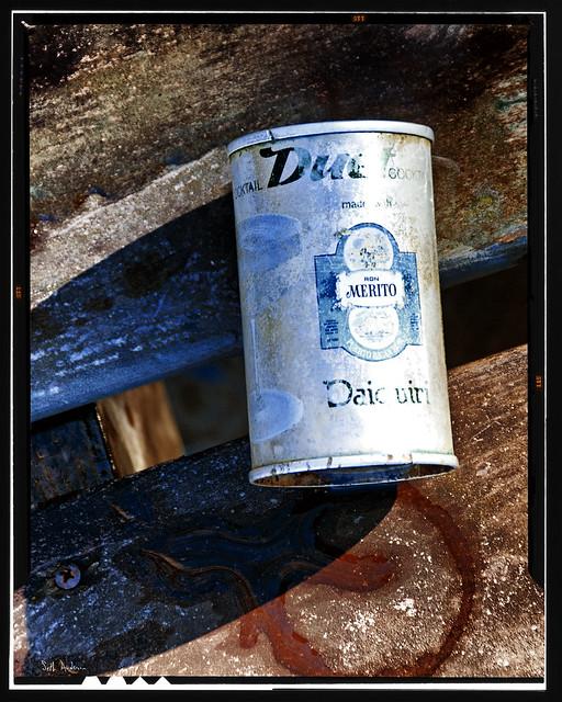 Leftover Ron Merito Rum Daiquiri in a Can