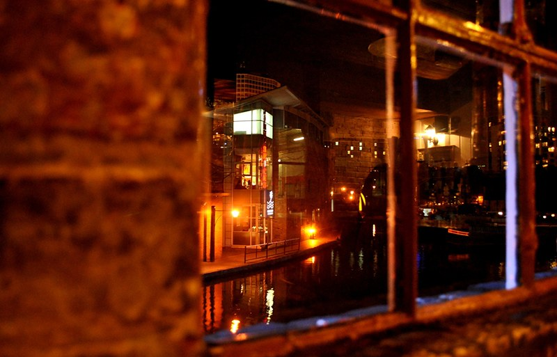 View from Tap & Spile pub, at Gas Street - Photo: Melissa Becker