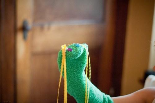 Sock Puppets!