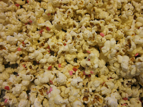 Chocolate Heart Popcorn