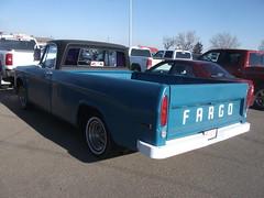 Fargo truck rear