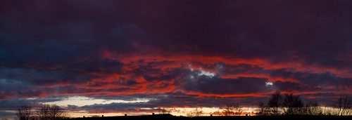 57/366 - The sky this evening by Flubie