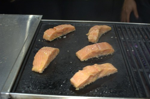 Salmon in the BBQ