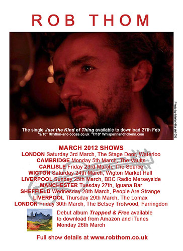 March 2012 Shows by Rob Thom