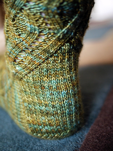 Tosh Merino In and Out Socks, Heel