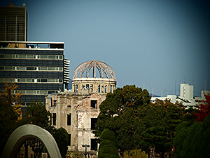 Atomic Dome at Ground Zero in Hiroshima.