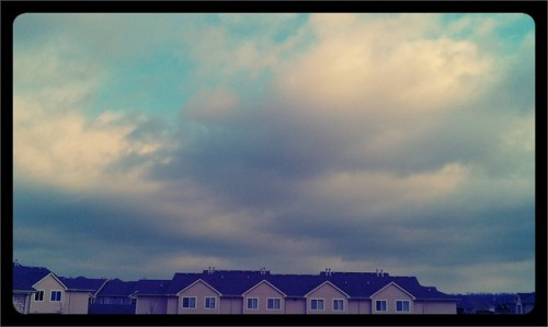 Clouds in the sky #marchphotoaday