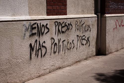 """Fewer Political Prisoners - More Politicians in Prison"""