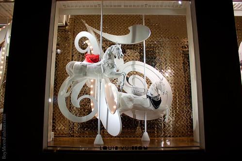 Window displays: LOUIS VUITTON - New Bond Street Maison (Feb 2012) by jaimelondonboy