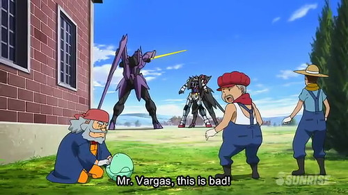 Gundam AGE Episode 17  Friendship and Love and Mobile Suits Youtube Gundam PH (22)
