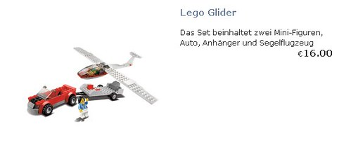 LEGO Glider (2012 Airline Promotional Set)