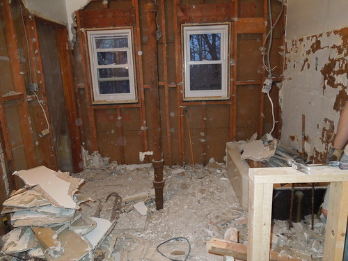 this used to be two bathrooms