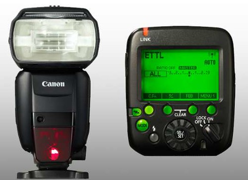 The new innovative Canon flash - new dimensions...