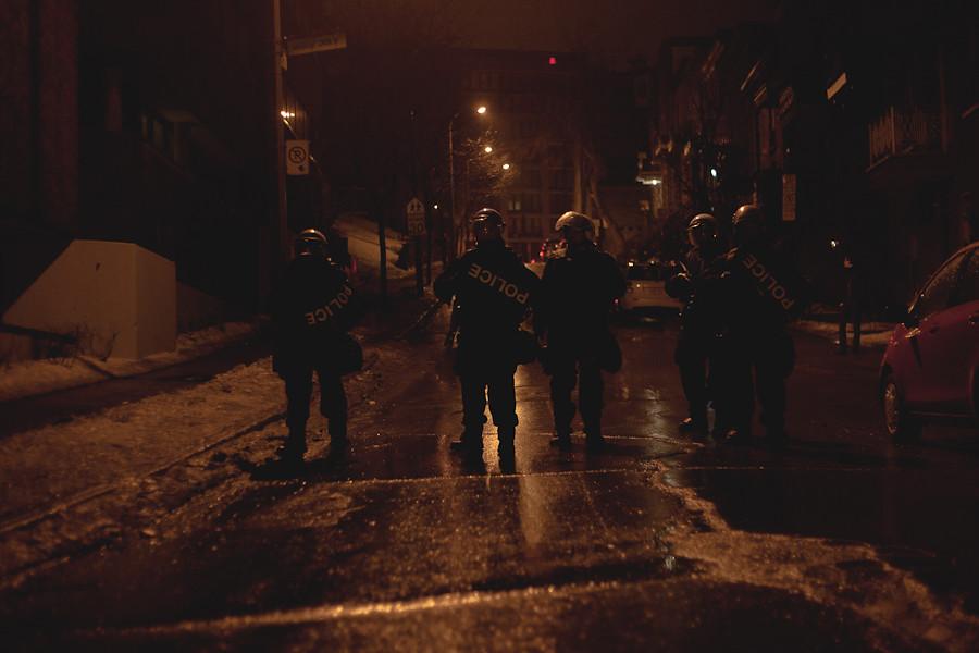 La grève illimitée venait d'être votée au cégep du Vieux Montréal le 16 février 2012 [photos Thien V]