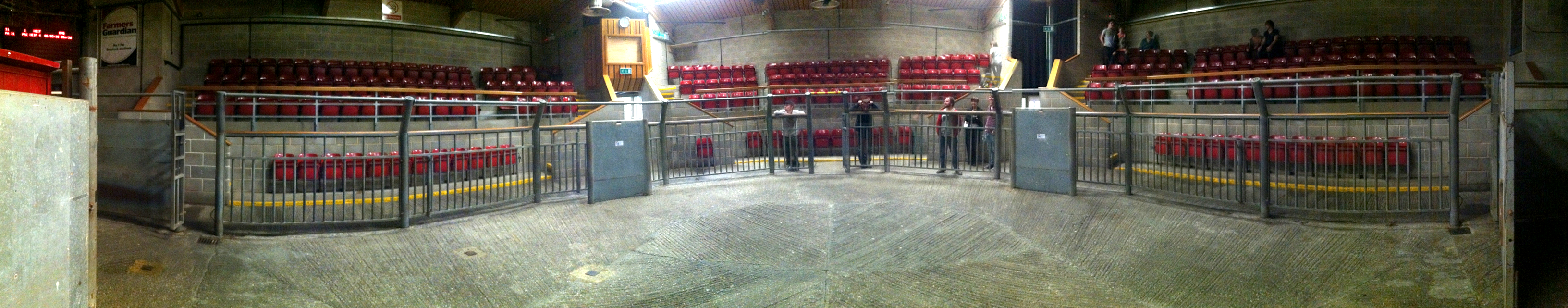 The Mart Theatre (in Cattle Auction Mode)