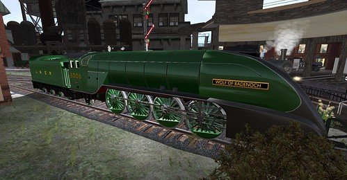 The Wolf of Badenoch locomotive, photographed by Wildstar Beaumont