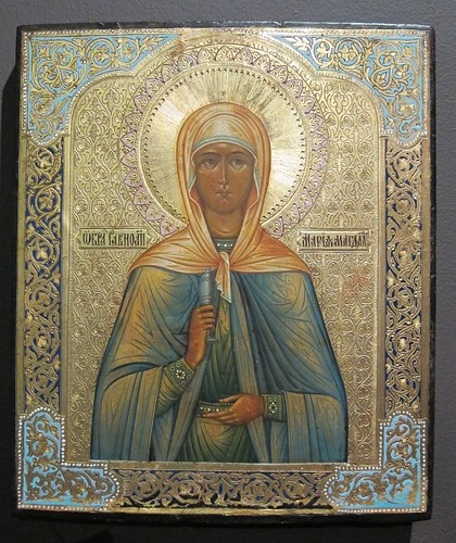 Mary Magdalene Russian icon