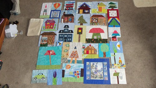 Scrapbeelooza and Beeobsessed blocks... by ruthiequilts