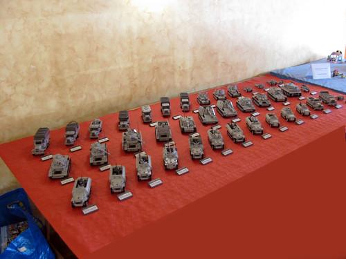 Stand de Panzerbricks en la NorteBrick