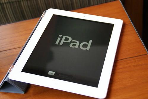 The New iPad 首次開啓 激活畫面