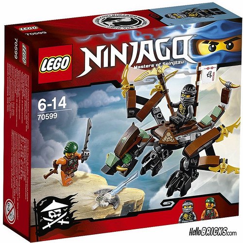 Lego 70599 - Ninjago - Cole's Dragon