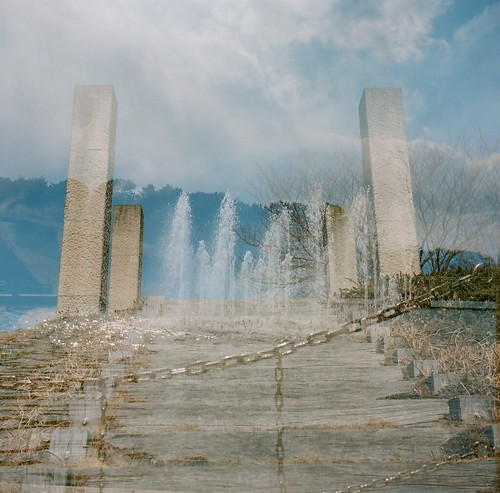 fountain in the sky
