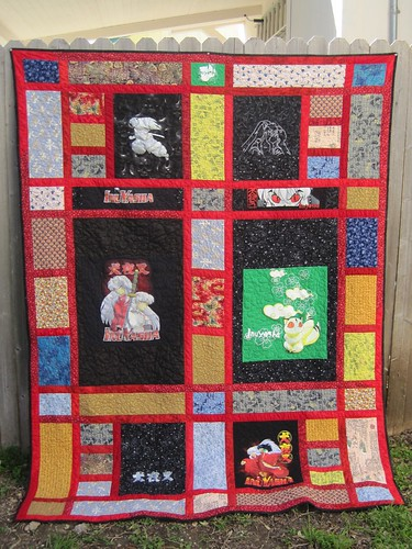 12 for 2012 FINISH - InuYasha Quilt 2/12