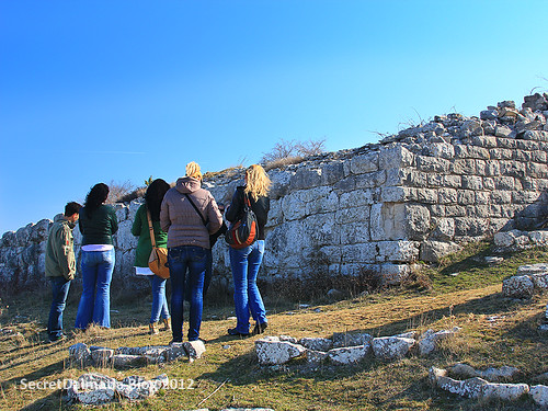 Meghalitic walls of ancient Varvaria